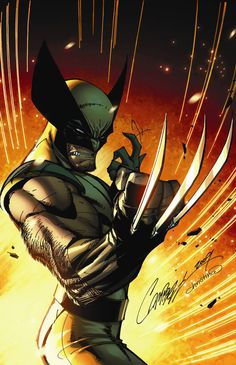 Wolverine by J Scott Campbell  ღ♥Please feel free to repin ♥ღ www.unocollectibles.com