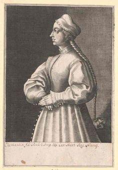 Klementia von Habsburg (ca. 1262 – after 7 February 1293) - fifth daughter of King Rudolf.