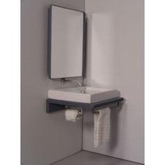 Modern Dollhouse Furniture | M112 PODS | Single Vanity Bath Unit by Paris Renfroe Design