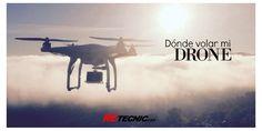 ¿Dónde puedo volar con mi Drone?