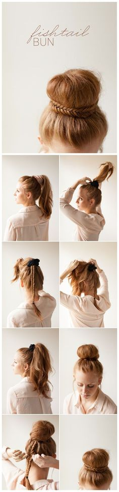 Vingle - 7 Ways to Style Fishtail Braid for Long Hair - Braid Styles