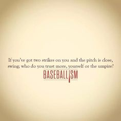 This applies to so many things! In baseball and in life!!!