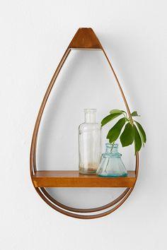 Bentwood Teardrop Small Shelf - Urban Outfitters