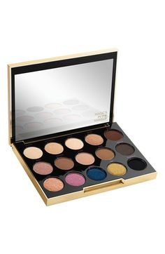 So many gorgeous shades in this collection by Urban Decay and Gwen Stefani. Can't wait to create a variety of looks with this palette.
