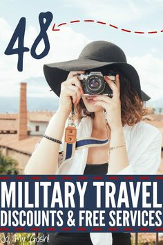 Ready to travel? Make sure that you use these services and discounts available to military families!