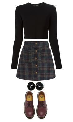 """""""Untitled #65"""" by evamederer ❤ liked on Polyvore featuring Dr. Martens and Proenza Schouler"""