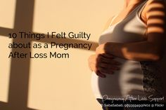 We all have mom guilt. When you are pregnant again after a loss mom guilt takes on a whole new and different meaning. It is a guilt that lives in the present but spans both worlds of life and death. It's a strange kind of Gender Disappointment, Pregnancy After Loss, Live In The Present, Infant Loss, Rainbow Baby, Grief, Meant To Be, Death, Mom