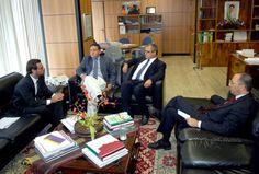 Ministro do Trabalho recebe vice-prefeito Roberto Rocha em Brasília