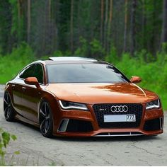 Bronze RS7  #Audi #cars #car #quattro