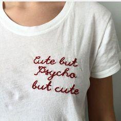 Cute, but psycho but cute
