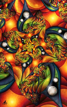 Colorful blast illusion of pearls and blasting psychedelic expression of beautiful creations of imagery madness abstract