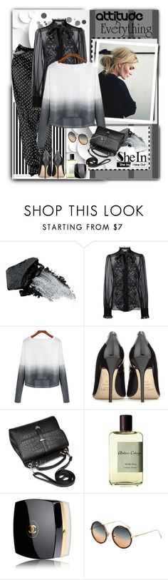 """""""Untitled #1878"""" by ksenia-lo ❤ liked on Polyvore featuring Michael Kors, Gorgeous Cosmetics, Dolce&Gabbana, Jimmy Choo, Atelier Cologne, Chanel, women's clothing, women's fashion, women and female"""