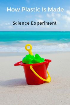 Homemade Plastic   Science Experiment For Kids