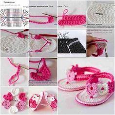 crochet tuto slippers (30)