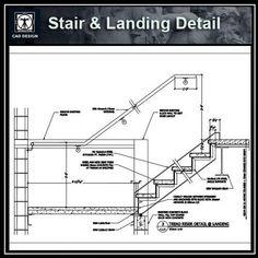 Best Free Rc Stair Details Autocad Blocks Autocad Symbols 400 x 300