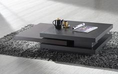 Wenge Contemporary Coffee Table - Materialicious