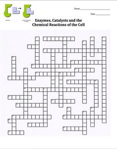 Matter and Change Crossword Puzzle (physical science