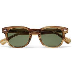 5fdde7a20fc Moscot - Gelt Square-Frame Acetate Sunglasses