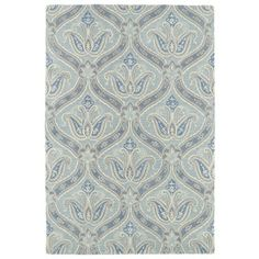 Shop for Hand-Tufted Seldon Spa Blue Paisley Rug (8'0 x 10'0). Get free shipping at Overstock.com - Your Online Home Decor Outlet Store! Get 5% in rewards with Club O!