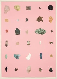 Available for sale from Weng Contemporary, Damien Hirst, Rocks Silkscreen, 86 × 63 cm Carta Collage, Abstract Illustration, Things Organized Neatly, Damien Hirst, Screen Printing, Design Art, Contemporary Art, Art Photography, Artsy