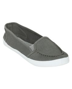 Solid Slip On Shoe from WetSeal.com