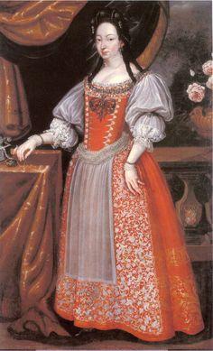 Katalin Thököly, (1655-1701) consort of Esterházy Ferenc.