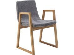Krzesło Trapez Szare
