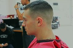 in haircut topics Young Boy Haircuts, Men's Haircuts, Haircuts For Men, Men's Crew Cut, Crew Cuts, Short Hair Cuts, Short Hair Styles, Trending Hairstyles For Men, Master Barber