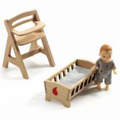 babykamer 'Lolly' voor poppenhuis | Speelgoed Kiki