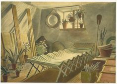 anthemsweet: Watercolors by Eric Ravilious