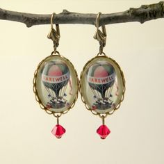 Balloon Earrings Vintage, Etsy/Schmutzerland