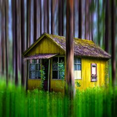 vicariousplacebo:  The Cabin in the Woods by alimof     http://paullekker.tumblr.com/post/89562993067/vicariousplacebo-the-cabin-in-the-woods-by