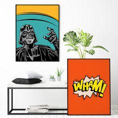 Star Wars Darth Vader Poster Customizable Art