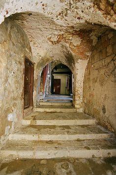 Old alleyway, Tripoli, Lebanon by iancowe, via Flickr