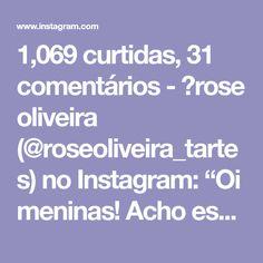 """1,069 curtidas, 31 comentários - 💮rose oliveira (@roseoliveira_tartes) no Instagram: """"Oi meninas! Acho esse ponto lindo para bolsas e cestos, fiz algumas bolsas com ele e fica lindo!…"""""""