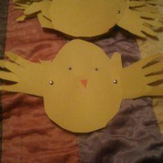 Easter art activity I did this year. Good scissor skills activity.