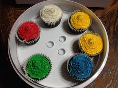 Gluten free jumbo cupcakes!
