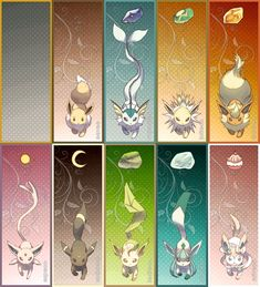 Z-Crystals for each Pokemon type Pokemon Luna, Pokemon Fusion Art, Pokemon Comics, Pokemon Memes, Evolution Pokemon, Eevee Cute, Pokemon Eevee Evolutions, Pokemon Breeds, Cute Pokemon Pictures