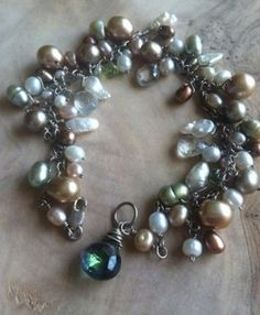 For the bridesmaids? #weddings #jewelry #bridesmaids #grey
