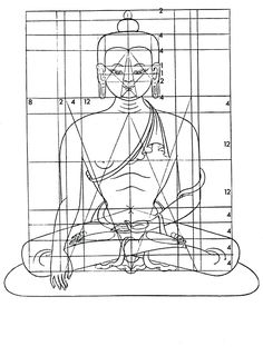 How to draw a perfect buddha! 80 x 60 Tibetan Symbols, Tibetan Art, Buddha Kunst, Buddha Art, Buddha Buddhism, Tibetan Buddhism, How To Draw Sacred Geometry, Buddhist Wheel Of Life, Buddha Drawing