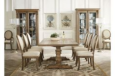havertys avondale dining table Dining Room Pinterest