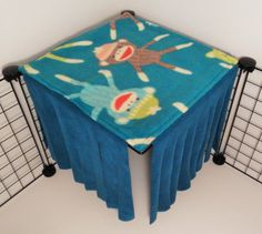 Upgraded version of the fleece forest from PeeWees Piggy Palace on Etsy