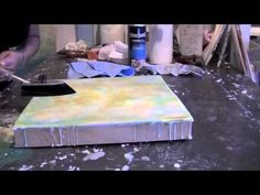 ▶ encaustic painting: Cari Hernandez - YouTube