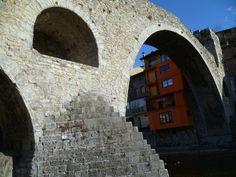 Publicamos Puente Nuevo, Pont Nou o Puente Viejo, Pont Vell de Camprodón.