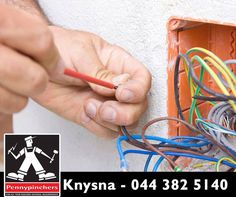 When it comes to building, renovating or fixing your home, it's important to involve your electrician from the very beginning to do all the wiring at first and then start to renovate. Knysna, Fix You, Things To Come, Building, Products, Buildings, Gadget, Architectural Engineering