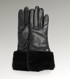 Warm, Classy, and proven....  My sister gave me these last year (in tan) for xmas and I LOVE them!  Womens CLASSIC LONG LEATHER GLOVE By UGG Australia  #EmmaGraham #WeekendWonderland