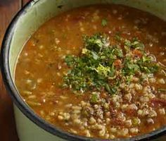Outydse gortsop Old-fashioned barley soup Easy Dinner Recipes, Soup Recipes, Easy Meals, Cooking Recipes, Recipies, Chicken Recipes, Veg Soup, Barley Soup, Healthy Meals For One