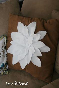 Large Felt Flower
