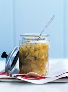 apple sauce  12 Granny Smith (green) apples peeled and chopped   ⅔ cups (160ml) maple syrup   1 cinnamon stick   sea salt and cracked black pepper