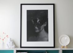 A Flare Up Giclee Print FREE SHIPPING 16x24 Black & White Surreal Photography Creepy Image Dark Art Portrait Flames Face Eyes Poster Decor by caryndrexl on Etsy